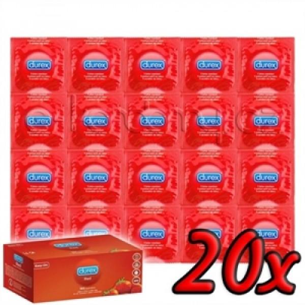 Durex Jahoda 20ks